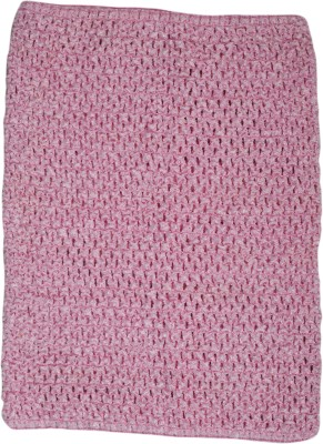 Funky Baby Party Sleeveless Solid Baby Girl,s Pink Top