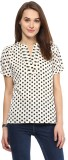 Harpa Casual Short Sleeve Printed Women'...