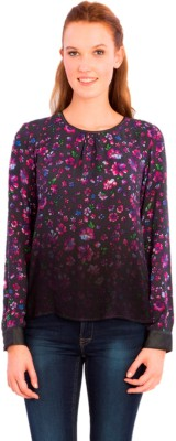 Vivante by VSA Casual Full Sleeve Printed Women's Red Top