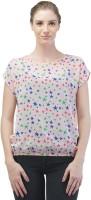 Merch21 Casual Cap Sleeve Printed Women's Pink Top best price on Flipkart @ Rs. 298