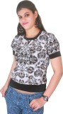Selfi Festive Short Sleeve Printed Women...