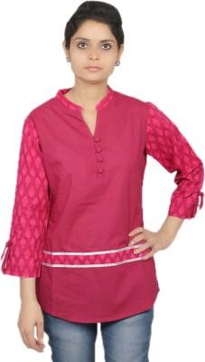 Kemrich Formal Full Sleeve Solid Women's Multicolor Top