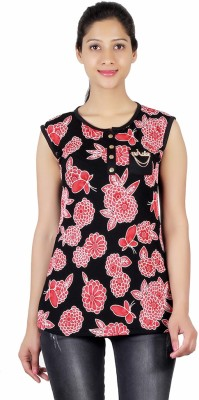 ASH Party Sleeveless Printed Women's Multicolor Top