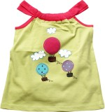 Jus Cubs Top For Girls Casual Cotton Tan...