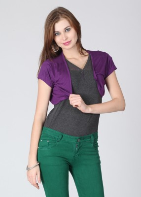 Mossimo Sleeveless Solid Women's Grey Top