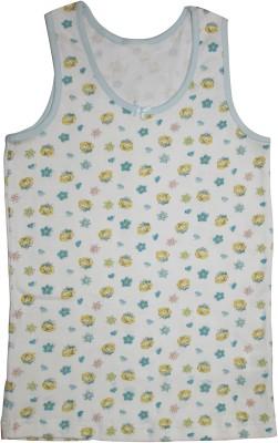 Mankoose Casual Sleeveless Printed Girl's White Top