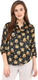 Vvine Casual 3/4th Sleeve Floral Print W...