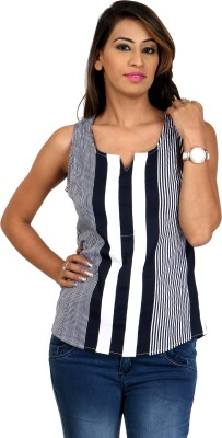 Scorpio Fashion Casual Sleeveless Printed Women's Multicolor Top