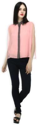20Dresses Lounge Wear Short Sleeve Solid Women's Pink Top