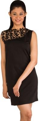 Modo Vivendi Casual Sleeveless Solid Women's Black Top
