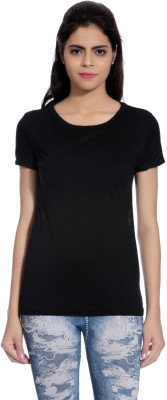 Glam Quotient Casual Cap sleeve Embellished Women's Black Top