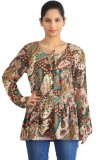 Zeupic Casual Full Sleeve Floral Print W...
