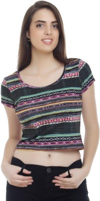 20Dresses Casual Short Sleeve Graphic Print Women's Multicolor Top