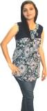 Shonaa Casual Sleeveless Printed Women's...