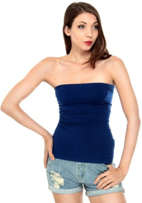 Fashion Line Casual Sleeveless Solid Women