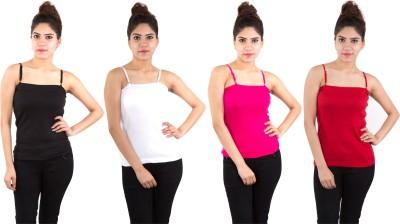 Piftif Beach Wear, Casual, Festive, Formal, Lounge Wear, Party, Sports Sleeveless Solid Women's Multicolor Top