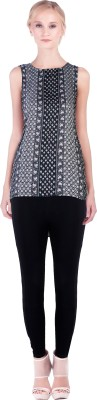 Lady Stark Casual Sleeveless Printed Women's Multicolor Top