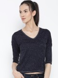 Rat Trap Casual 3/4th Sleeve Solid Women...