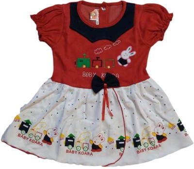 Belle Girl Baby Girl's A-line Red Dress