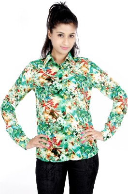 Zolake Casual Full Sleeve Printed Women's Multicolor Top