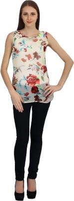 kellan Casual Sleeveless Printed Women's Multicolor Top