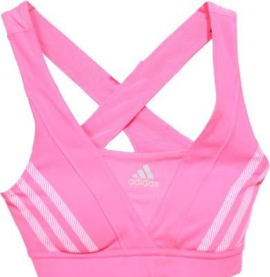 Adidas Sleeveless Striped Women's Pink Top