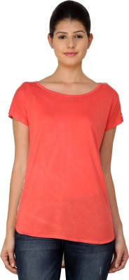 StyleToss Casual Short Sleeve Printed Women's Pink Top