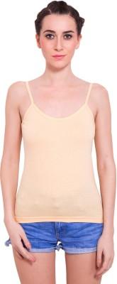 Agarwal Enterprises Casual Sleeveless Solid Women's Beige Top