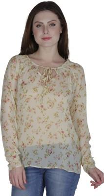 Eva De Moda Casual Full Sleeve Printed Women's Multicolor Top