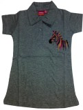 Tomato Top For Girl's Casual Polyester C...