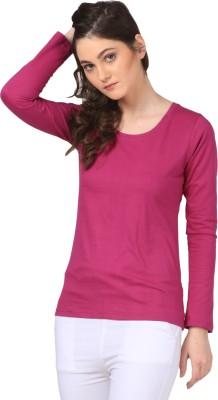 FashionExpo Casual Full Sleeve Solid Women's Purple Top