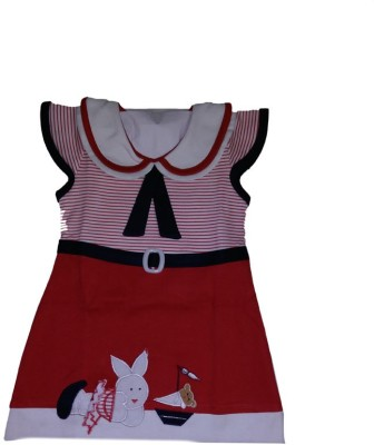 Belle Girl Girl's A-line Red Dress
