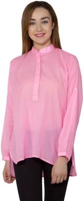 Vasstram Casual Full Sleeve Solid Women's Pink Top