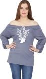 Kaaya Casual Full Sleeve Solid Women's G...