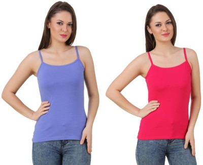 99DailyDeals Casual, Party, Sports, Beach Wear, Festive Sleeveless Solid Women's Multicolor Top