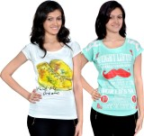 Gee & Bee Casual Short Sleeve Printed Wo...