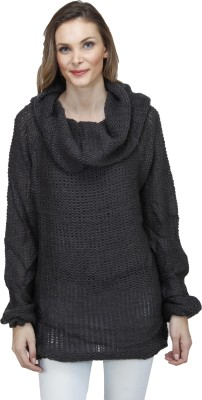 Pab Jules Casual Full Sleeve Solid Women's Grey Top