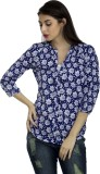 Mask Lifestyle Casual 3/4th Sleeve Flora...