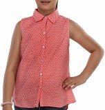 Trmpi Top For Girls Casual Cotton Top (R...
