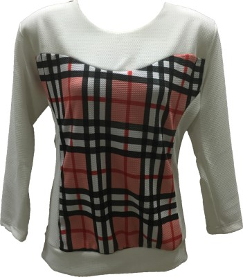 Dovekie Casual Full Sleeve Printed Women's Multicolor Top