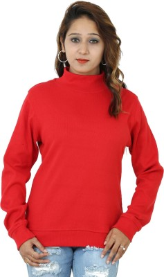 Groviano Casual Full Sleeve Woven Women's Red Top