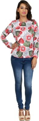 Scorpio Fashion Casual Full Sleeve Printed Women's Multicolor Top