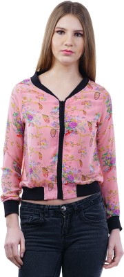 Merch21 Casual Full Sleeve Floral Print Women's Pink Top