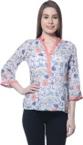 Ritzzy Casual 3/4th Sleeve Printed Women...