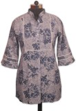 Indian Rain Casual 3/4th Sleeve Floral P...