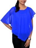 Yaari Casual Short Sleeve Solid Women's ...