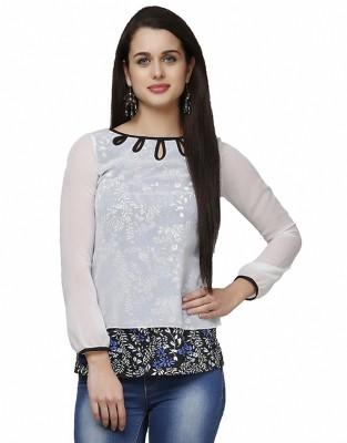 Eavan Casual Full Sleeve Solid Women's White Top
