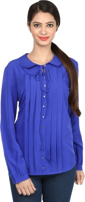 Charisma Casual Full Sleeve Solid Women's Purple Top