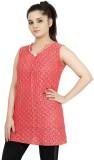 Sringar Casual Sleeveless Solid Women's ...