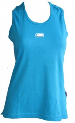 Freestyle Sports Sleeveless Solid Women's Light Blue Top